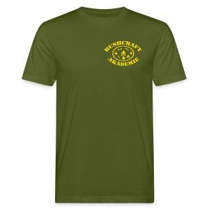 BA Tainer & Fan / Logo klein  - Männer Bio-T-Shirt