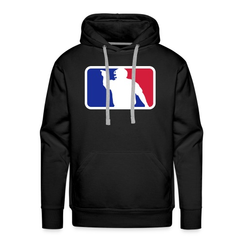 Baseball Umpire Hoodie - Men's Premium Hoodie