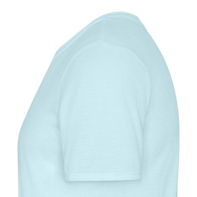 """T-shirt homme bleu ciel """"Vive la poésie"""""""