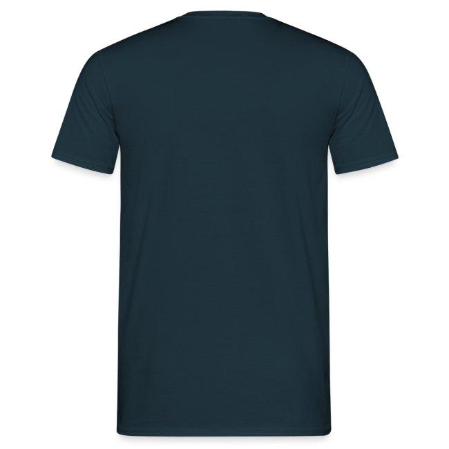 """T-shirt homme bleu marine """"Vive la poésie"""""""