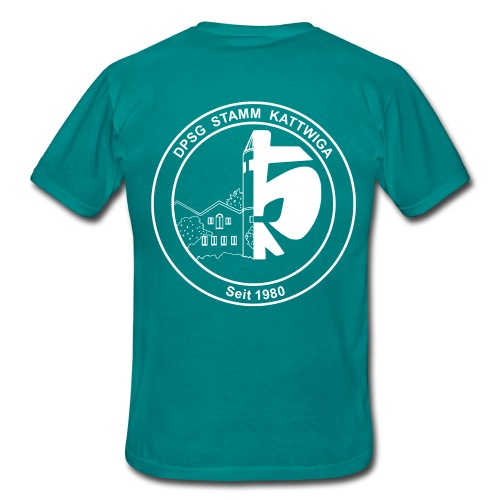 DPSG Kattwiga Männer T-Shirt Version 1 (Aufdruck Weiss) - Männer T-Shirt