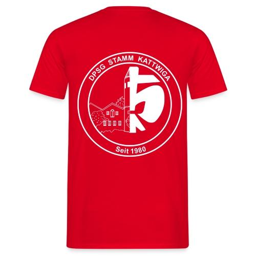 DPSG Kattwiga Männer T-Shirt Version 2 (Aufdruck Weiss) - Männer T-Shirt
