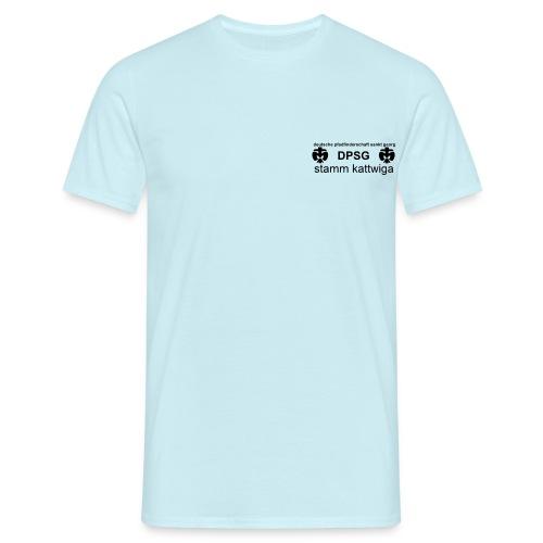 DPSG Kattwiga Männer T-Shirt Version 1 (Aufdruck Schwarz) - Männer T-Shirt