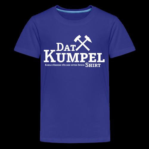 Dat Kumpel-Shirt Kinder - Teenager Premium T-Shirt