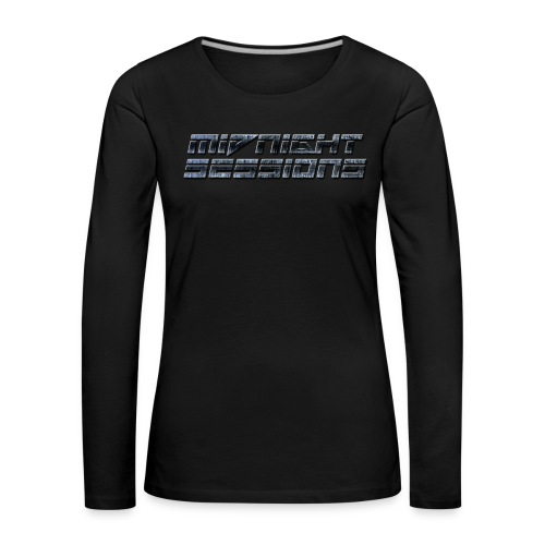 Women's Premium Long-Sleeved Midnight Sessions Shirt - Women's Premium Longsleeve Shirt