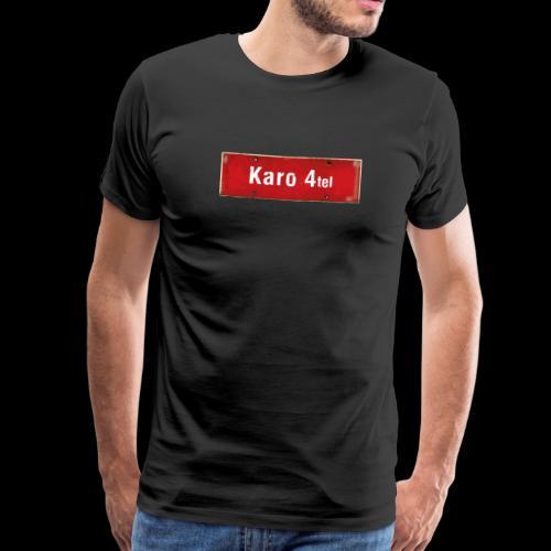 Mein Hamburg, mein Karo 4tel, mein Kiezshirt - Männer Premium T-Shirt