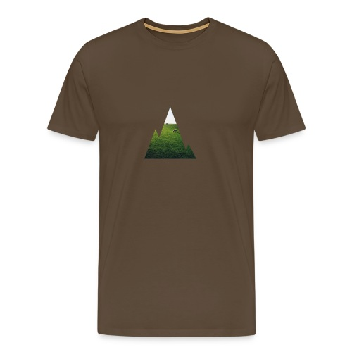 Mountain Window - Männer Premium T-Shirt