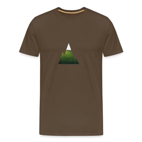 Mountain Window - Männer Premium T-Shirt