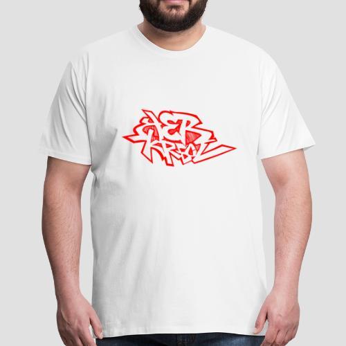 Tee shirt i love Ker Kreol - T-shirt Premium Homme