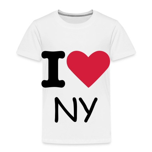 Kinder Premium T-Shirt  I love NY - Kinder Premium T-Shirt