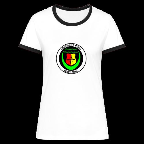 CCH - Frauen Kontrast-T-Shirt