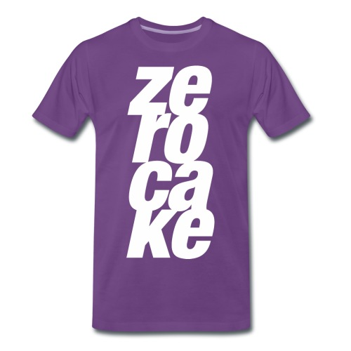 Zerocake Mens Vertical Tee - Men's Premium T-Shirt