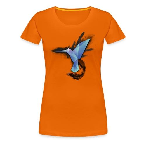 Colibri Spread - Frauen Premium T-Shirt