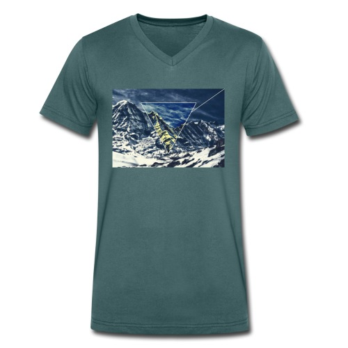 Triangel - Männer Bio-T-Shirt mit V-Ausschnitt von Stanley & Stella