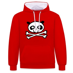 Sweat Unisexe Panda - Sweat-shirt contraste