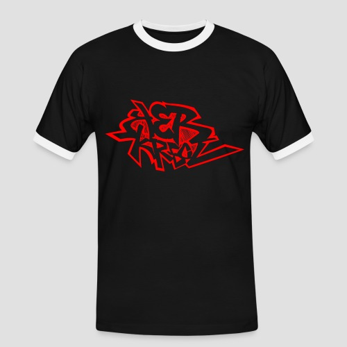 Tee shirt i love Ker Kreol - T-shirt contrasté Homme