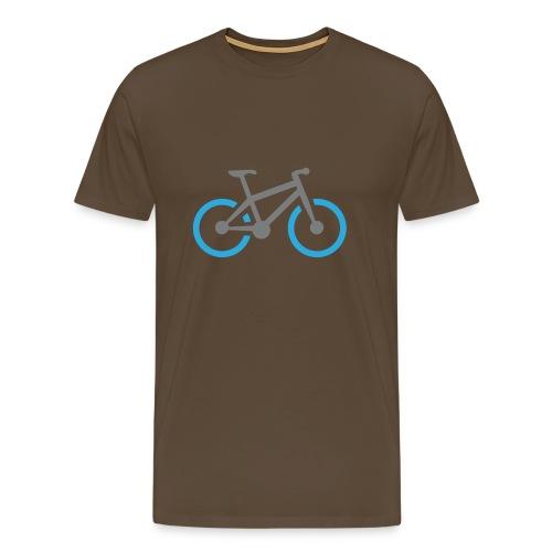 MTB Bike Mountainbike SHirt - Männer Premium T-Shirt