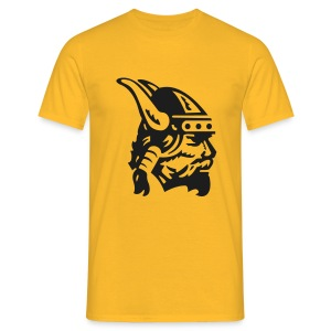 T-shirt Simple Viking Head Homme - T-shirt Homme