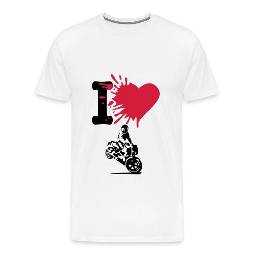 i love stunt - T-shirt Premium Homme