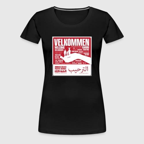 Women  - tshirt - Velkommen - Dame premium T-shirt