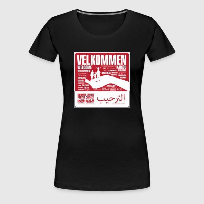 Women  - tshirt - Velkommen