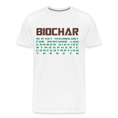 Biochar - Men's Premium T-Shirt