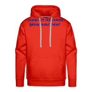 ALBAN IS COOL HOODY - Men's Premium Hoodie