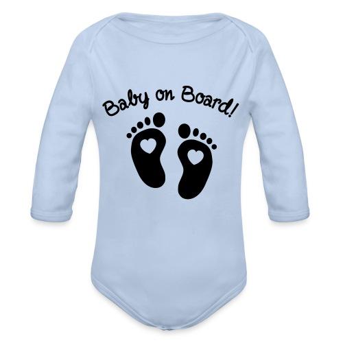 Baby Top - Baby Bio-Langarm-Body