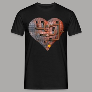 LockDown Hart - Mannen T-shirt