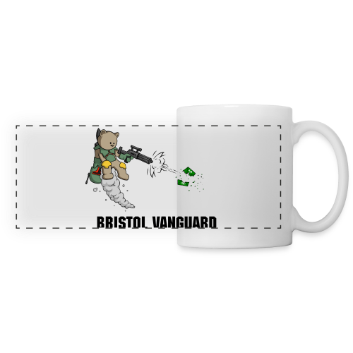 Bounty Bear Wrap around mug - Panoramic Mug