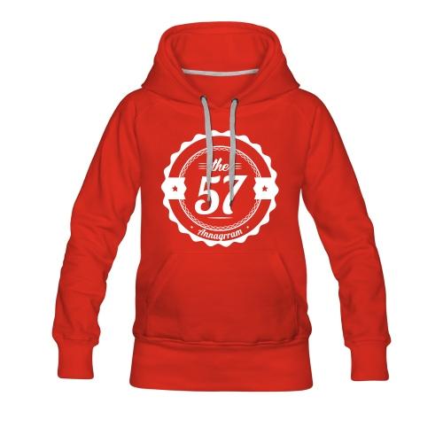 57 - Annagrram - V1 - Sweat-shirt à capuche Premium pour femmes