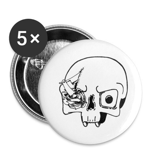 KnifeSkull Clips - Spilla grande 56 mm