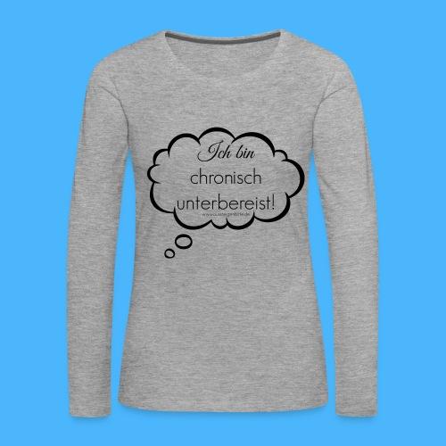 Damen Langarmshirt - Frauen Premium Langarmshirt