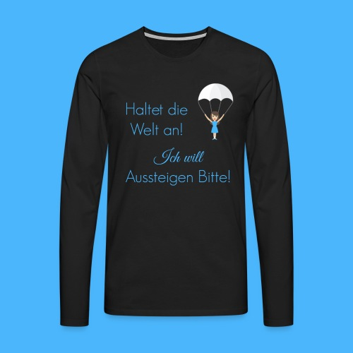 Herren Langarmshirt - Männer Premium Langarmshirt