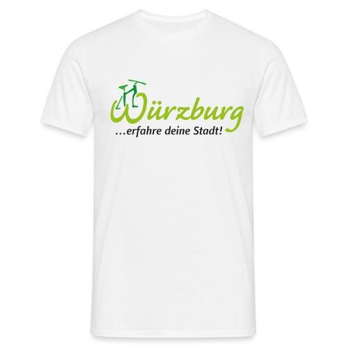 Würzburg...erfahre deine Stadt! - Männer T-Shirt