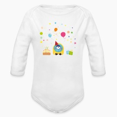 Birthday Monster Baby Bodysuits