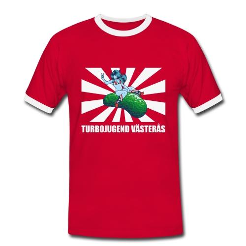 Turbojugend Västerås - Kontrast-T-shirt herr