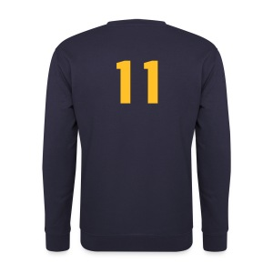 SWEAT SHIRT EURO TALK NAVY BLUE - Herrtröja