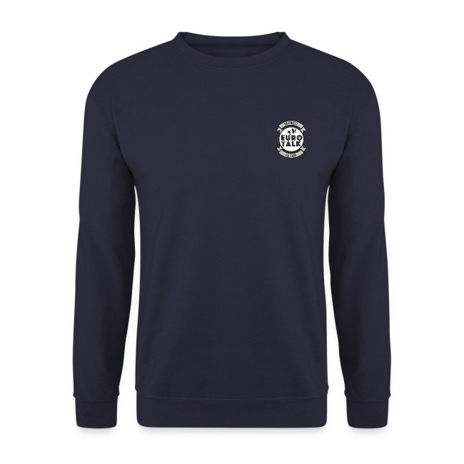 SWEAT SHIRT EURO TALK NAVY BLUE