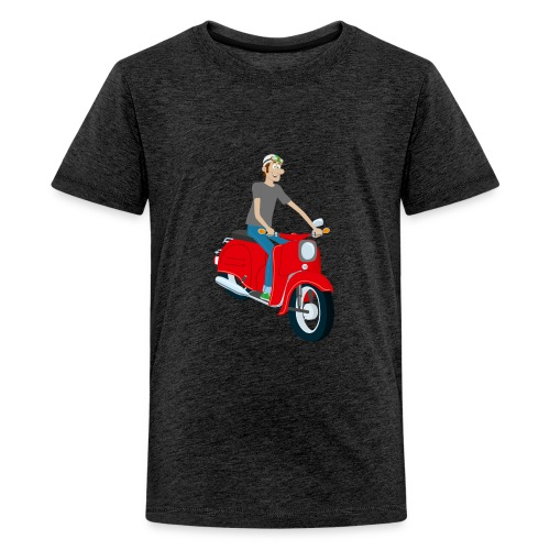 Teenager Shirt Comic rote Schwalbe - Teenager Premium T-Shirt