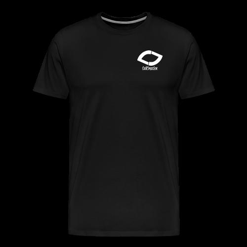 Black T-Shirt  Man - Männer Premium T-Shirt
