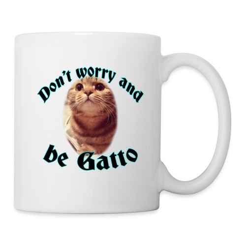 Tazza don't worry and be gatto - Tazza