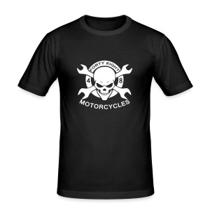 48 wrench & skull - Tee shirt près du corps Homme