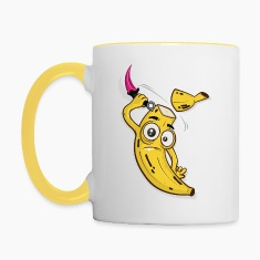 Karambit Banana Slice Yellow Mug