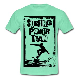 Surfing power - Men's T-Shirt