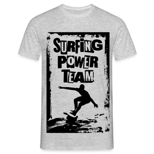 Surfing power - Men's T-Shirt