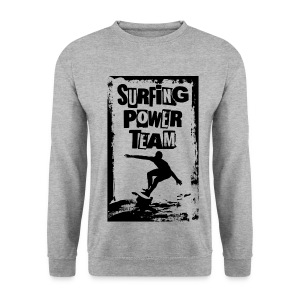 Surfing power - Men's Sweatshirt