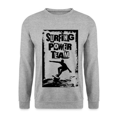 Surfing power - Men's Sweatshirt