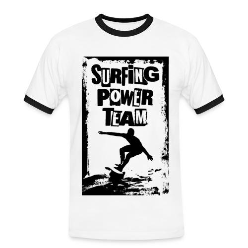 Surfing power - Men's Ringer Shirt