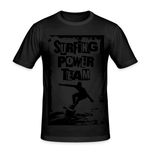 Surfing power - Men's Slim Fit T-Shirt